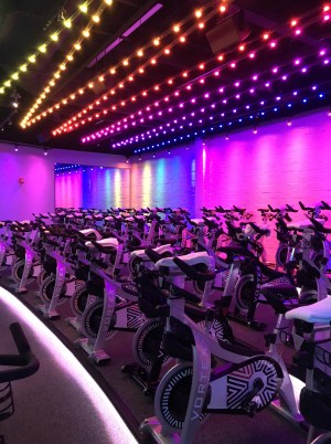 Vortex Texas spin class cycle
