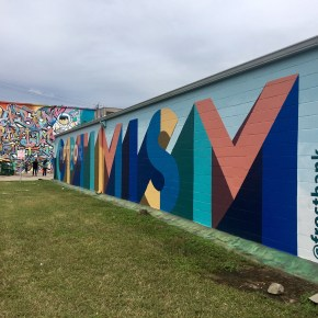 New #OptForOptimism Mural by Frost Bank in EaDo promotes Optimism