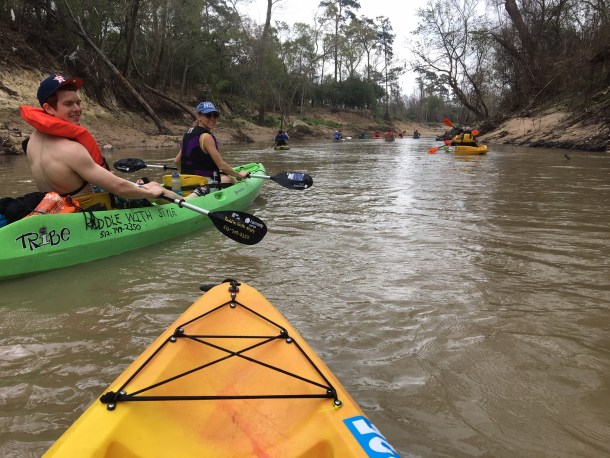 buffalo bayou regatta kayak houston