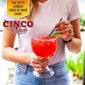 10 Reasons to Fiesta at Cyclone Anaya's for Cinco de Mayo