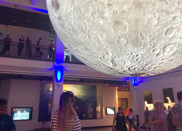 HMNS The Moon