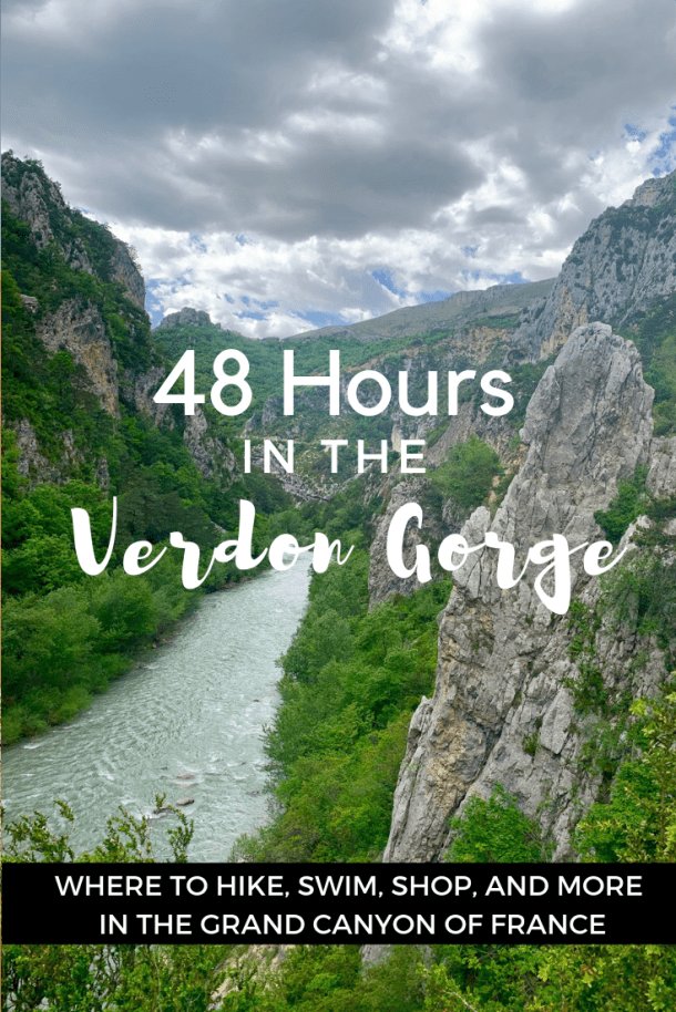 48 Hours in the Verdon Gorge