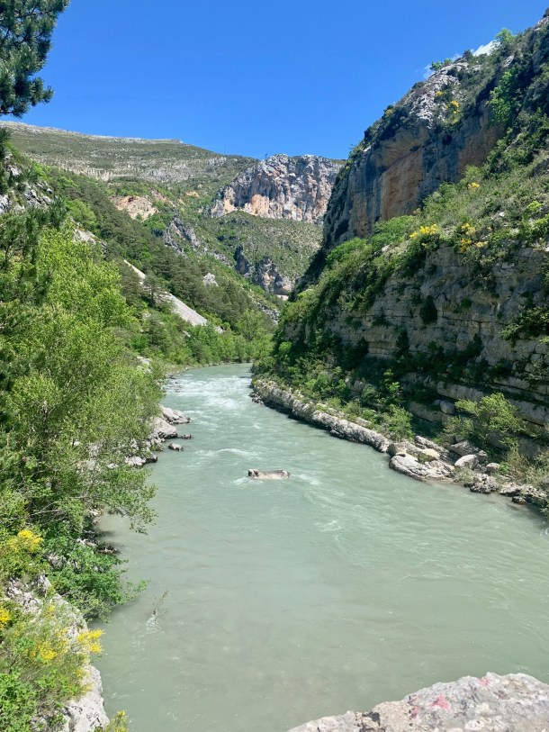 where to hike in verdon gorge