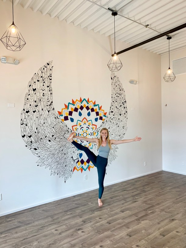 BE yoga Houston heights ambassador