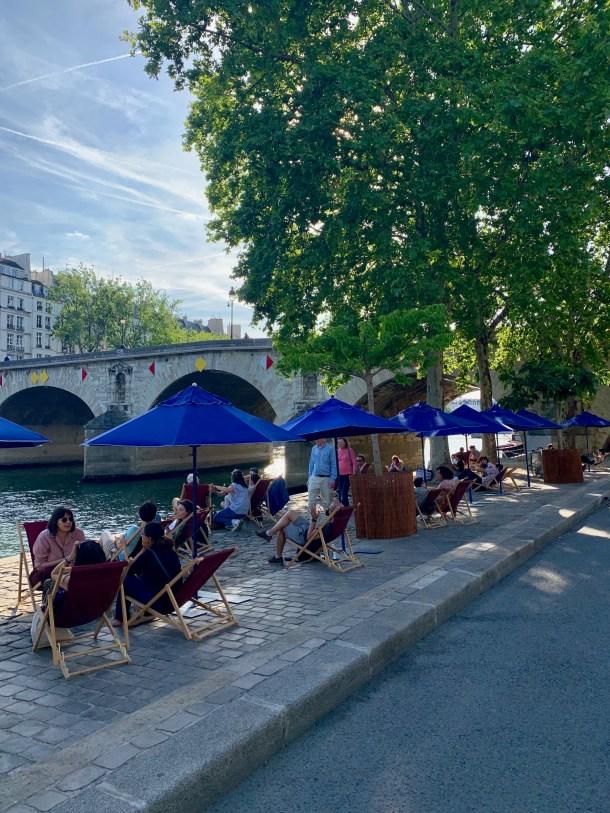 paris plage seine canal