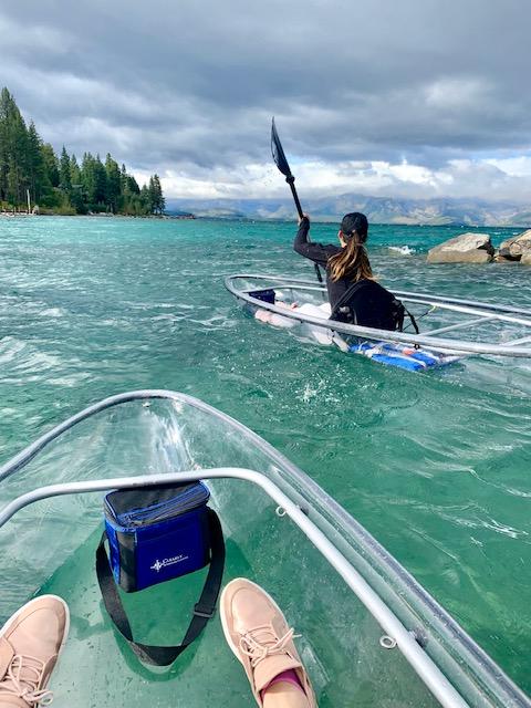clear kayak lake tahoe