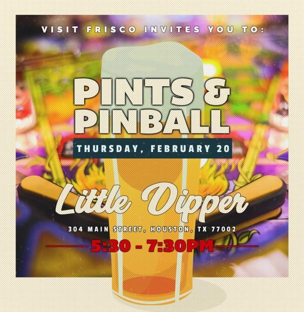 Pints & Pinballs Houston