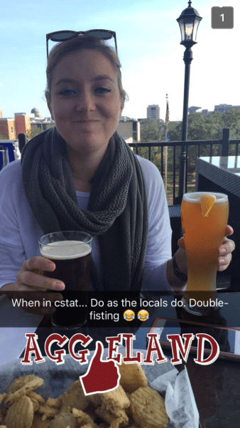 Accidentally ordered two beers.