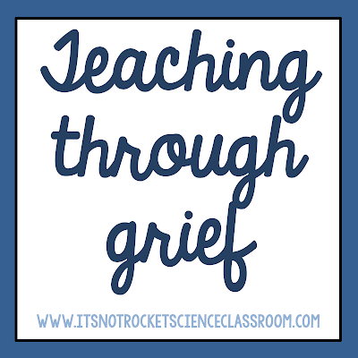 A blogpost reflecting on current loss and having to return to the classroom in the midst of grief.  Teaching is such a relational job that it can be nearly impossible to when suffering personal trials.  These thoughts are some of the things I've learned through our own grief and what it looked like returning to work.