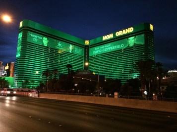 MGMホテルの外観