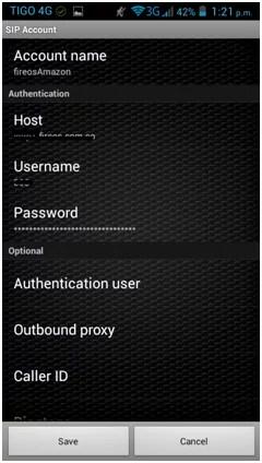 Cómo hago llamadas VoIP desde mi celular con Android?