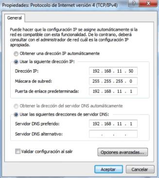 IP por defecto GW Dinstar