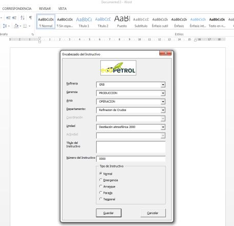 Plantillas Automatizadas en Word o Excel