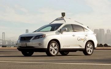 Carro autónomo Google