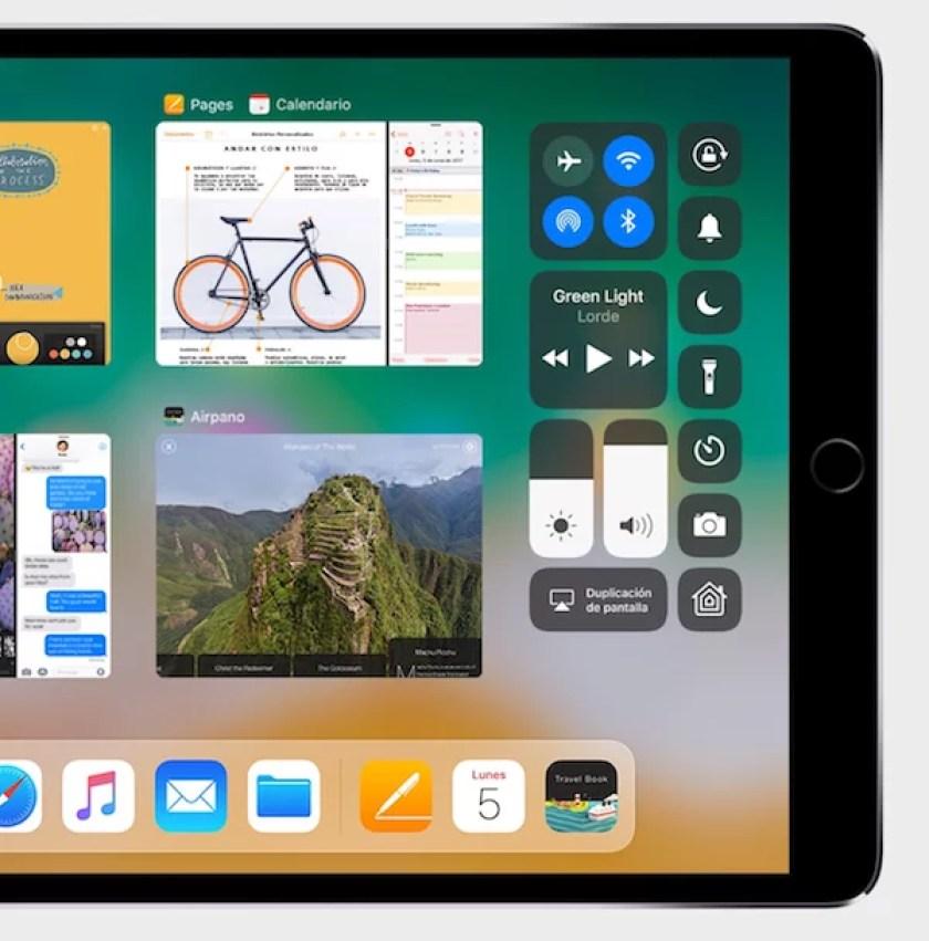 Novedades iOS 11 - Personalización del centro de control