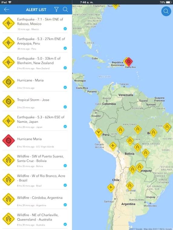 UbAlert - Aplicaciones móviles para desastres naturales