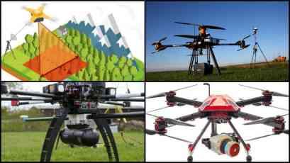 Drones mapeo terrenos