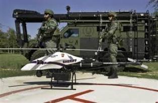Drones para inspección militar