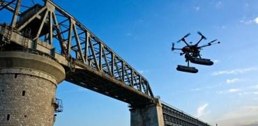 Drones para monitorear estructuras
