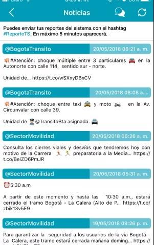 Noticias del sistema transmilenio sitp