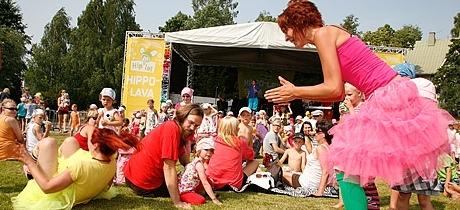 Детский фестиваль Hippalot в Финляндии