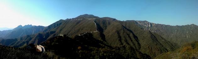 Великая Китайская Стена — панорама