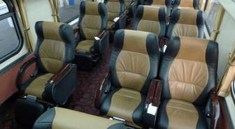 Первый класс, сидячие места в поезде Сингапур-Куала Лумпур-Бангкок