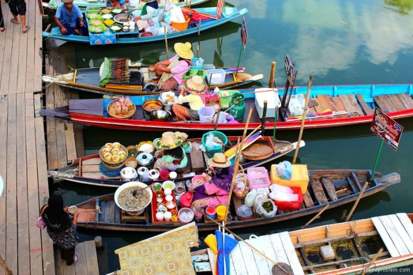 Плавучий рынок, 合艾的房子, 泰国