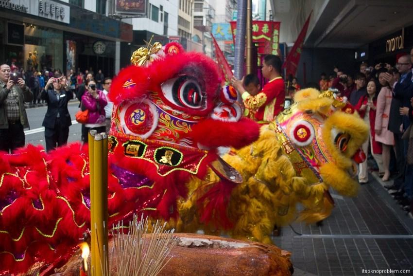 Танец дракона в Гонконге 1