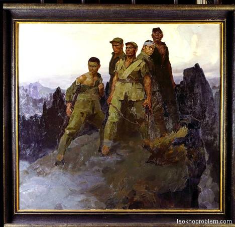 Пять героев гора Ланья