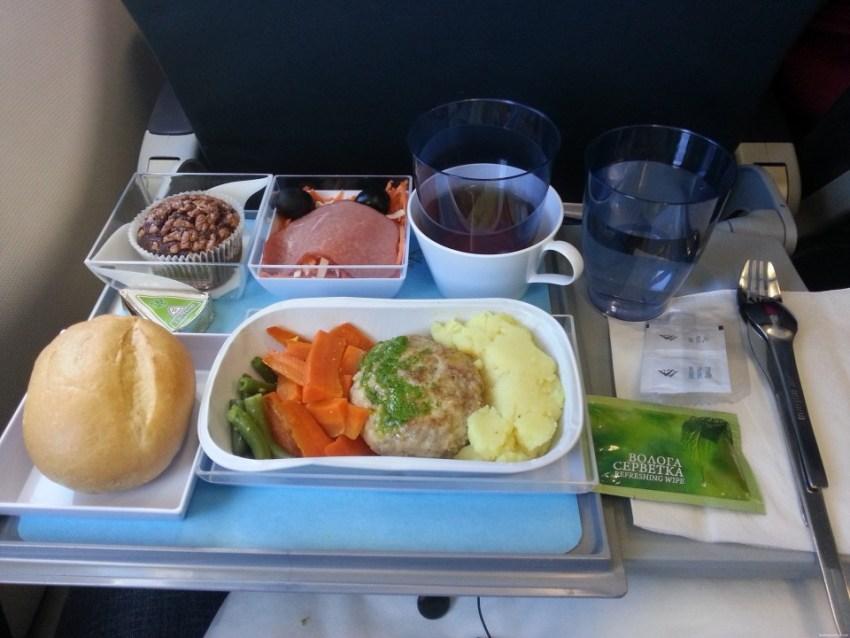 Лучшая еда на борту самолёта