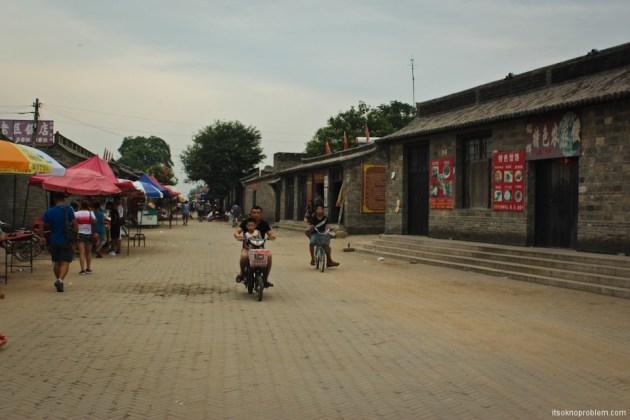 Партизанские тоннели в городке Жаньчжуань. Центральные улицы