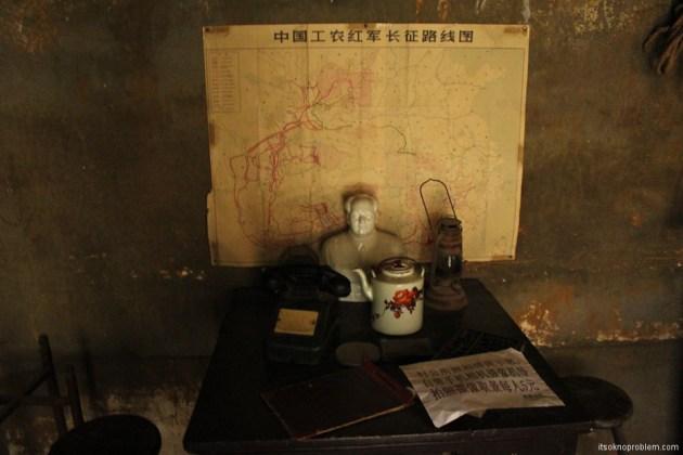 Партизанские тоннели в городке Жаньчжуань. Карты, пароли и явки