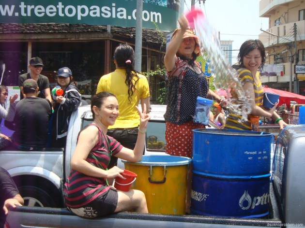 Songkran - Thai new year