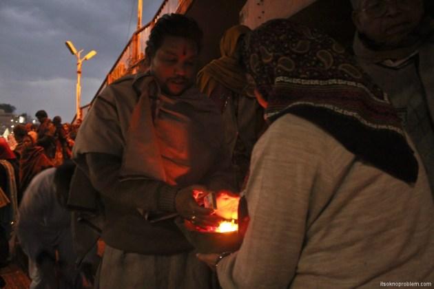 Ceremony in Haridwar Ganga Aart