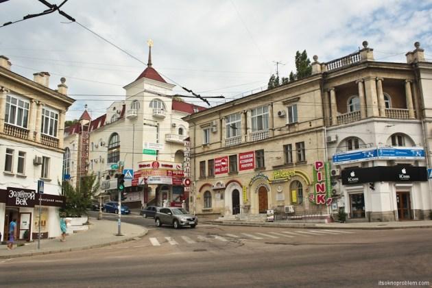 Прогулка по городу Севастополь.