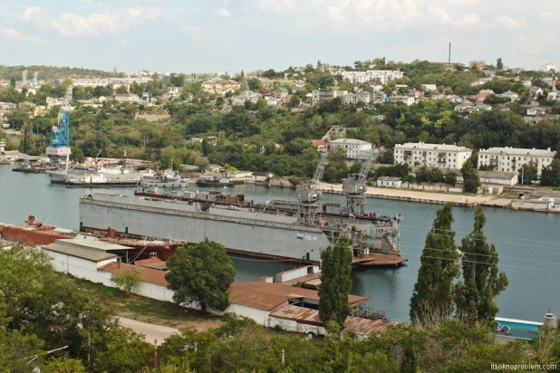 Walk around Sevastopol