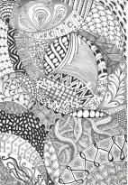 Full page Zentangle