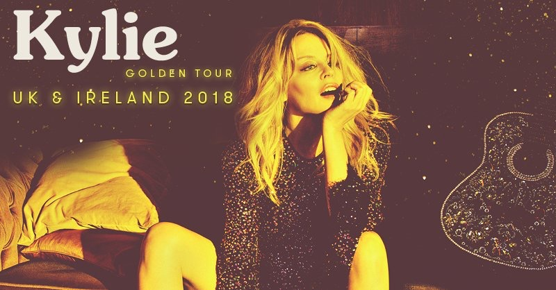 Kylie comes to Cardiff on her Golden tour