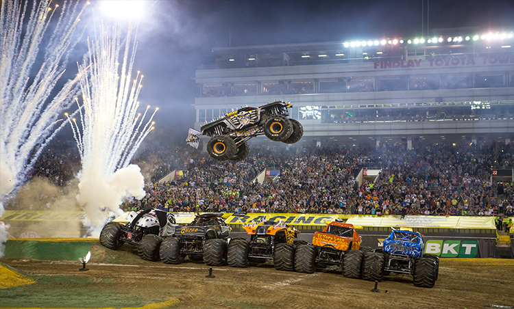 The Monster Trucks are back in Cardiff