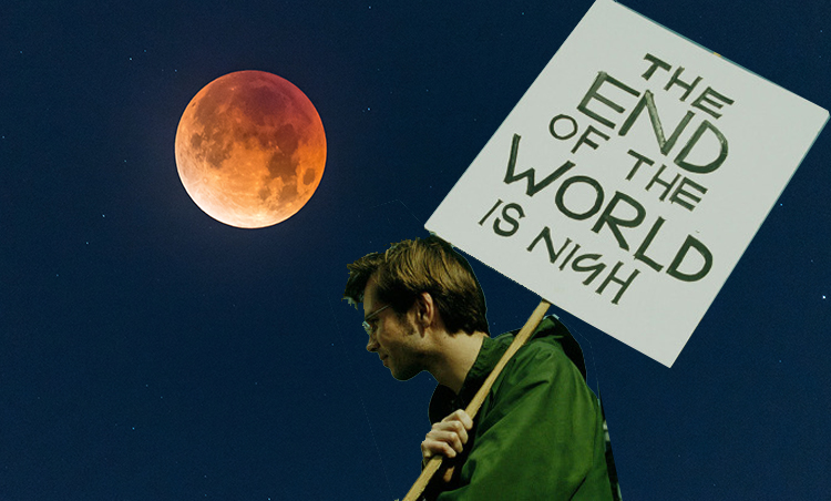 The Blood Moon is coming back and it could be the end of the world!