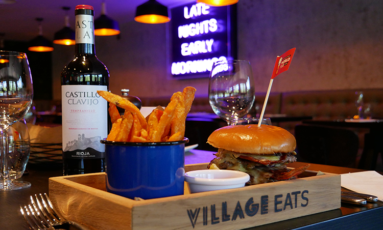 The Village Hotel just got even better thanks to its new Village Grill restaurant