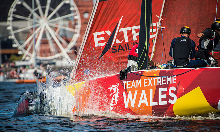CARDIFF HARBOUR FESTIVAL HOSTS EXTREME SAILING SERIES™
