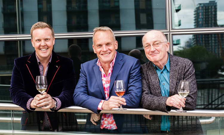 Three Wine Men UK tour will be coming to Cardiff