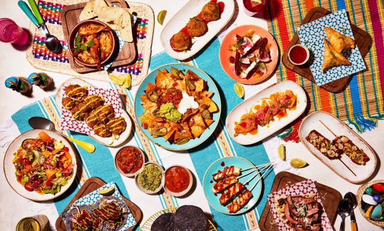 Las Iguanas launch new latin American menu