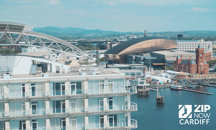 The Zip line planned for Cardiff Bay has official launch date