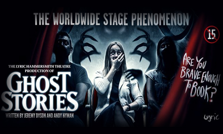 Are you brave enough to go see Ghost Stories at the New Theatre? We were and I think we'll never be the same again!