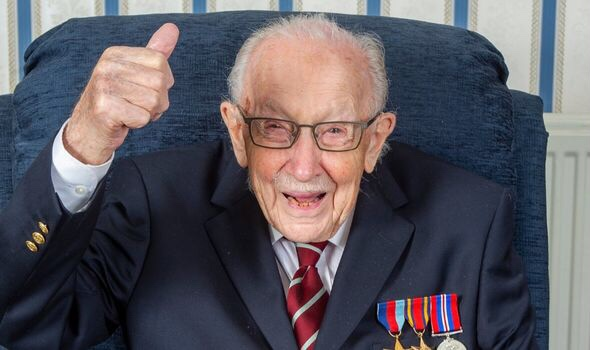 We Salute you Captain Sir Tom Moore!
