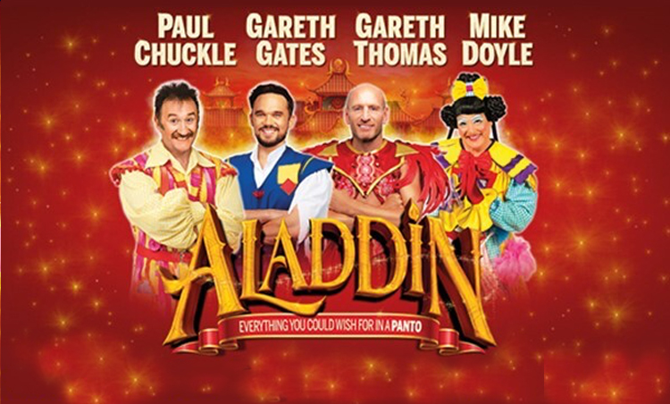 3 additional cast members now confirmed for this year's magical pantomime ALADDIN at the new theatre