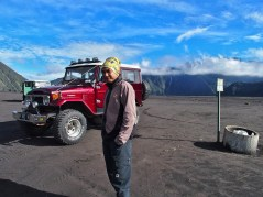 Our guide & Jeep